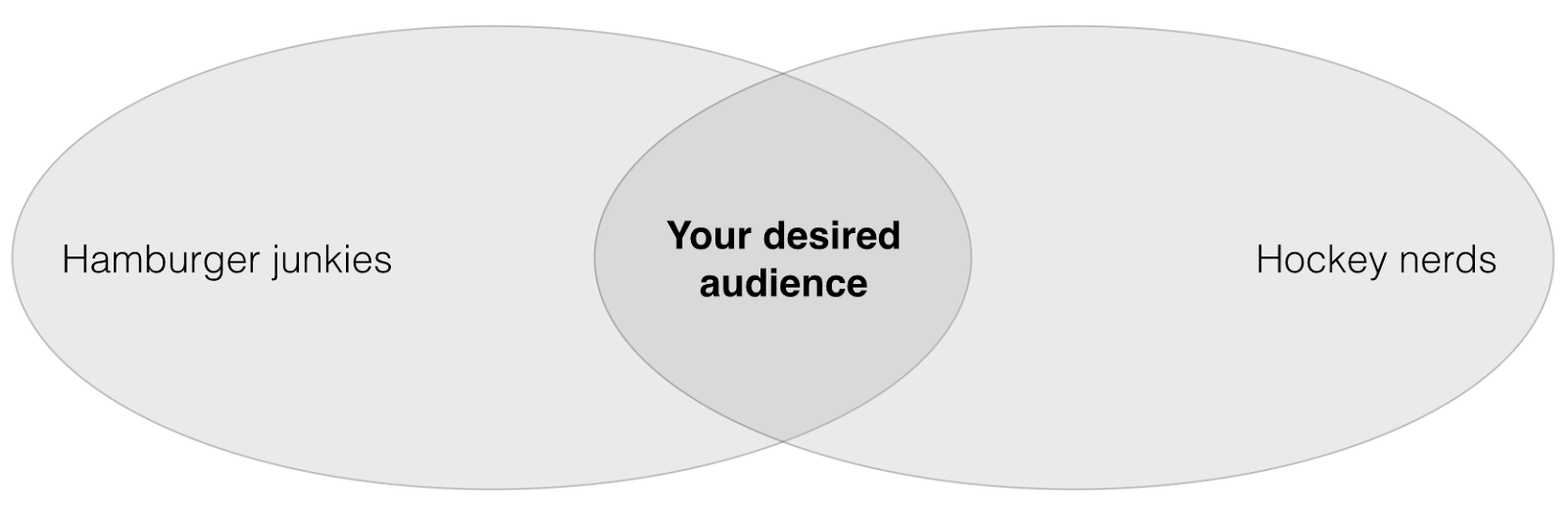 Desired Facebook audience